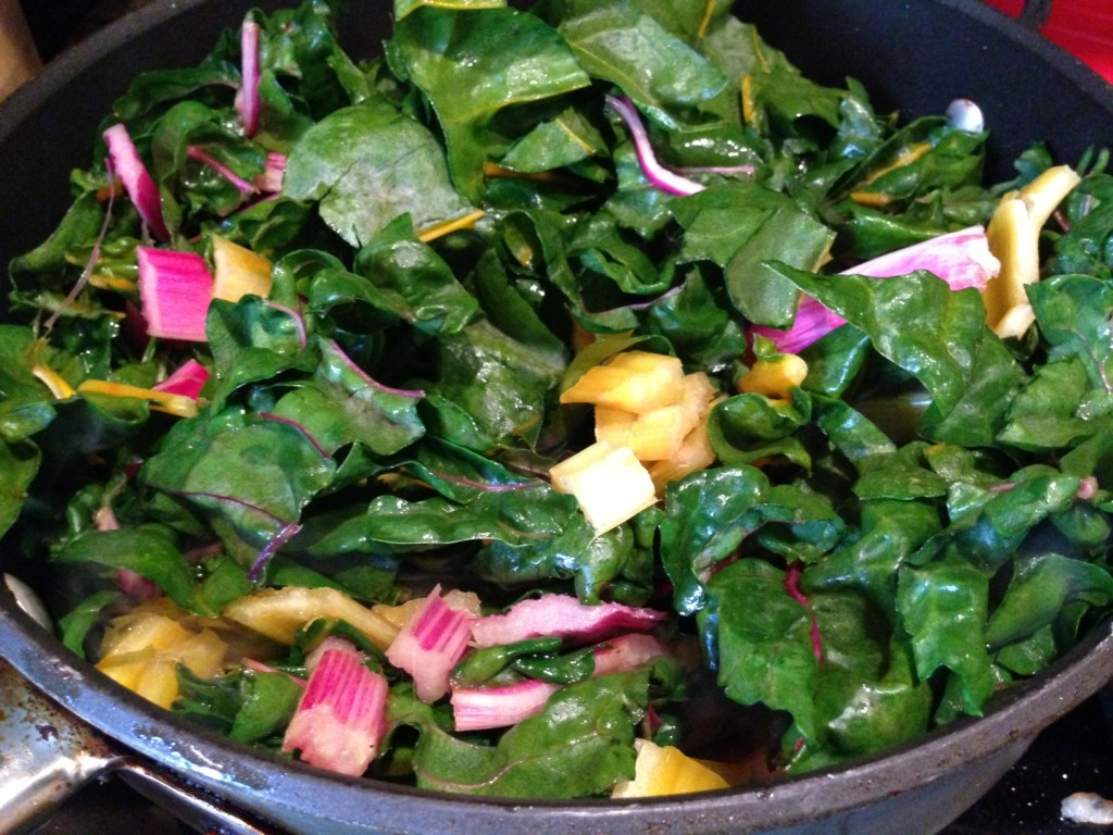 swiss chard recipe for families
